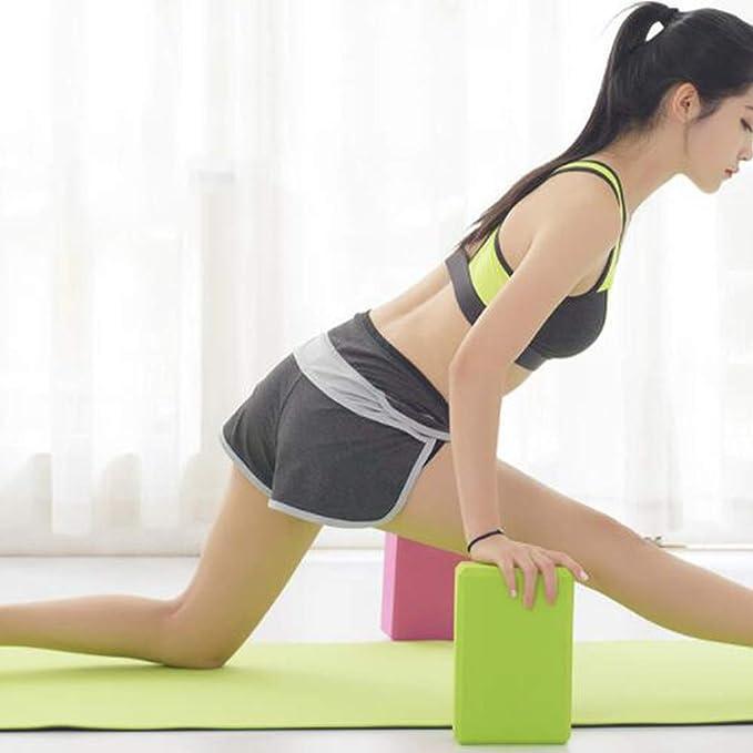 ZQSLD Yoga Bloque Yoga 4 Piezas de Bloques de Yoga para ...