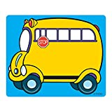 Trend Enterprises T-68001BN School Bus Terrific Labels, 36 per Pack, 6 Packs
