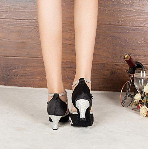 Salle femme Miyoopark heel bal de 6cm Black adavgqxw