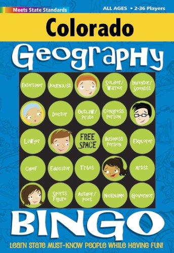 Download Colorado Geography Bingo Game! (Colorado Experience) PDF