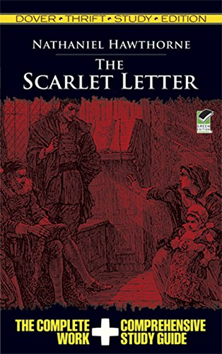 The Scarlet Letter Thrift Study Edition (Dover Thrift Study Edition) by [Hawthorne, Nathaniel]