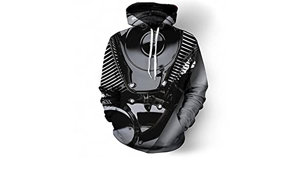 Amazon.com: Amazing Motorcycle Art 3D Hoodies Hoodie Men Women NEW New Fashion Hooded Tracksuits Tops Pullovers Sweatshirt Dropship hip hop hoodie XL: ...