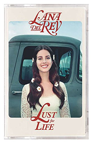 Lana Del Rey - Lust For Life Limited Edition Exclusive Red Cassette Tape