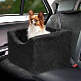 Precious Tails Black Pet Booster Car Seat High Density Foam with Safety Strap Medium Review