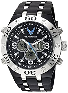 Wrist Armor Men's 37300007 Analog-Digital Display Quartz Black Watch