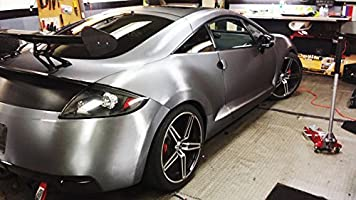 Black High Gloss Realistic Paint-Like Microfinish 17.75in x 60in Vinyl Wrap Roll with VViViD XPO Air Release Technology