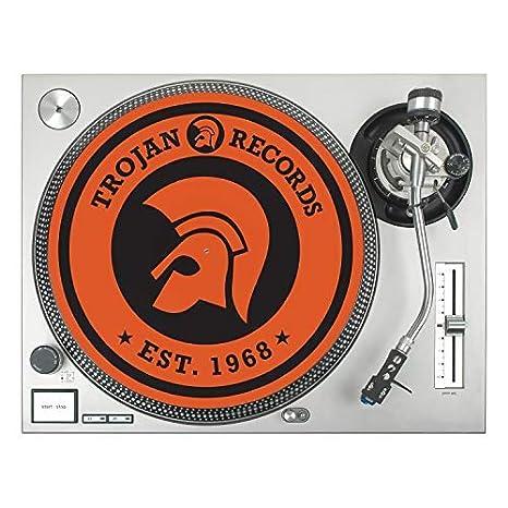 1 Stück Trojan Logo Slipmat Trojan Records Est 1968