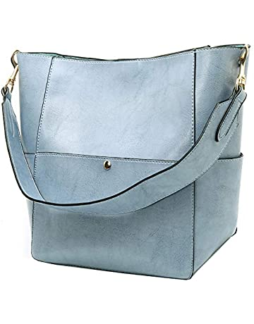 a122dccd9a68 Molodo Women s Satchel Hobo Top Handle Tote Shoulder Purse Soft Leather  Crossbody Designer Handbag Big Capacity