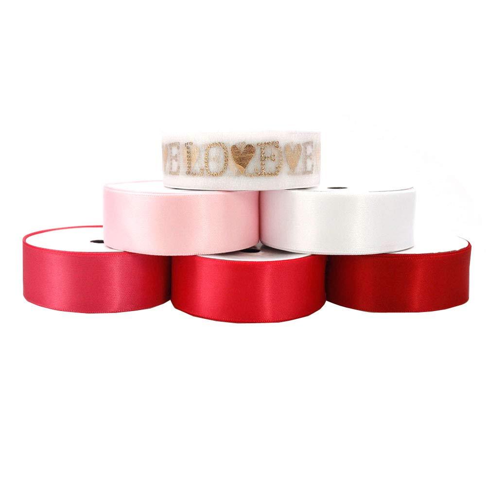 1 Inch 25mm Striped Stripe Grosgrain Ribbon  DIFFERENT COLOURS