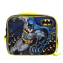 Lunch Bag - DC Comics - Batman Yellow/Black BN35160