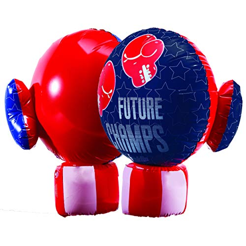 Inflatable Punching Gloves (Franklin Sports Inflatable Boxing Gloves - Future Champs - Jumbo Inflated Size - 20 x 13.5)