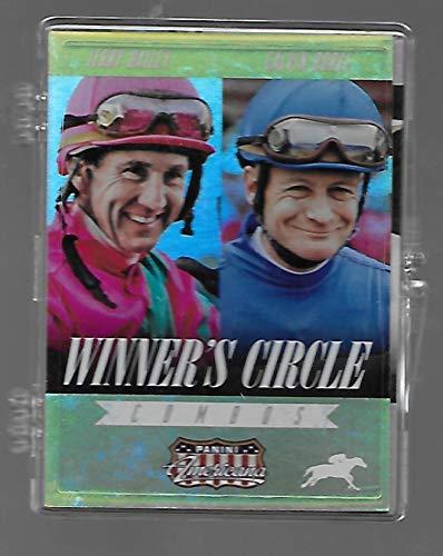 Horse Racing Trading Cards Lot of 5 - CT-05- 2015 Panini Americana - Winner