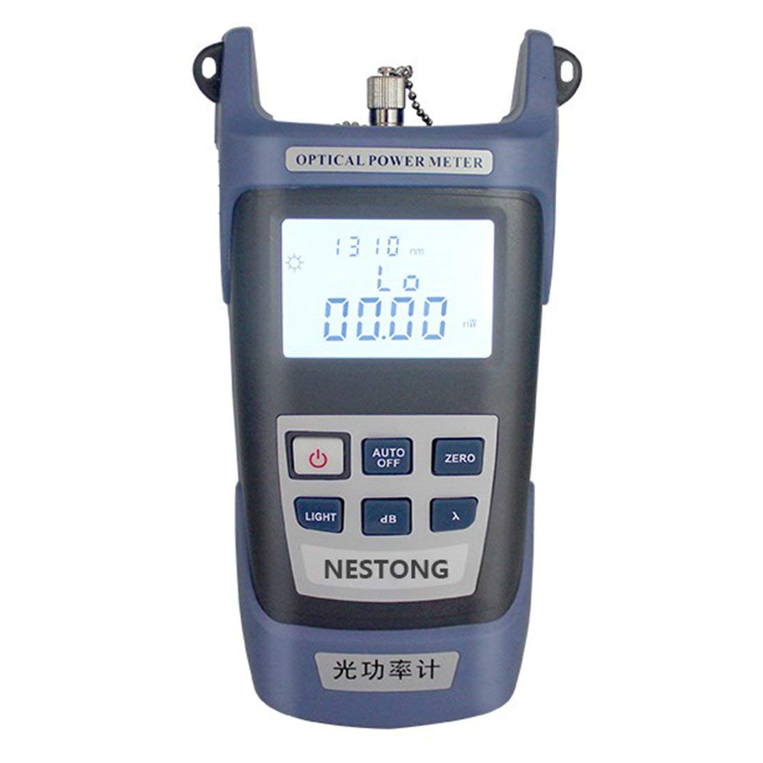 Medidor de Potencia de Fibra óptica de Alta precisión -70 ~ + 10dBm SC/FC / ST Connector: Amazon.es: Electrónica