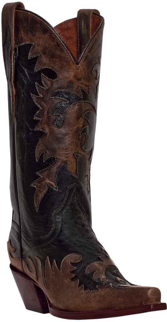 Dan Post Boots Women's Amy Western Boot B00ESQG3YY 8.5 B(M) US Black