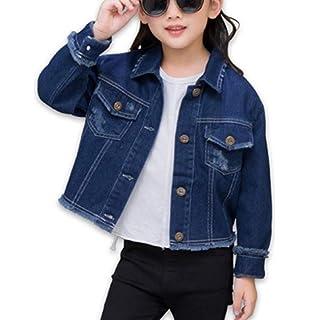 Amazon Com The Children S Place Girls Denim Jacket Clothing