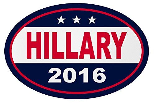 Hillary Clinton Bumper Sticker (Imagine This YY7690 Hillary 2016)