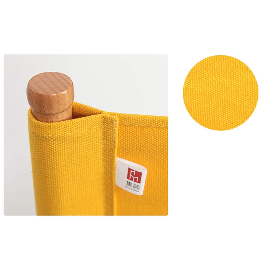 Amazon.com: ZCCDYY Silla de madera maciza plegable de lona ...