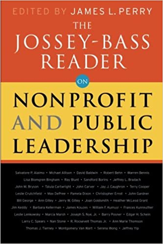 The jossey bass reader on nonprofit and public leadership jossey the jossey bass reader on nonprofit and public leadership 1st edition fandeluxe Images