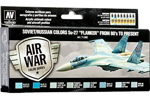 Vallejo - Air War Color Series Soviet/Russian Colors Su-27 Flanker from 80