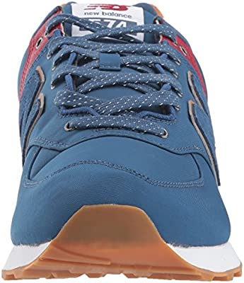 premium selection 9798b 03f15 New Balance Men's Ml574v2 Shoe,Blue,11.5 2E US: Amazon.com