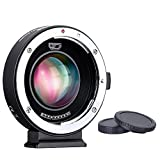 Commlite CM-AEF-MFT Speed Booster 0.71x AF Adapter for Full-Frame Canon EF Lens to M4/3 Camera Body Panasonic GH4 GH5 GF6 GF1 E-M5 E-M10 E-PL5 (with USB Update Port)