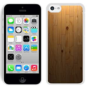 Personalized Phone Cover Parquet Wood Board Texture iPhone 5C Wallpaper in White