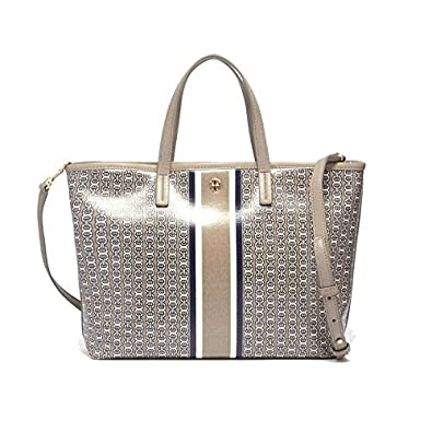 26a1fe91c03d Tory Burch トートバッグ GEMINI LINK SMALL TOTE 43896 レディース FRENCH GRAY 048 トリーバーチ   並行