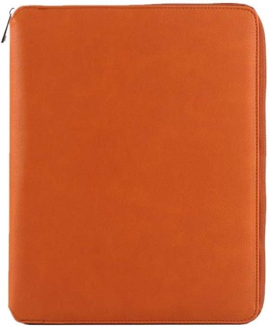 Yzibei Organizador de Carpetas de Documentos Maletín Reunión Conjunto De Archivos Carpeta Bolsa Tarjetero Maletín De Negocios Ejecutivo para Tableta iPad (Color : Marrón, Size : 335x240mm)