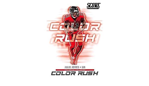 quality design a3f61 ea167 Amazon.com: 2018 Score Color Rush #15 Julio Jones Atlanta ...