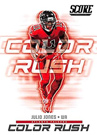 Amazon.com  2018 Score Color Rush  15 Julio Jones Atlanta Falcons ... fa7c843ea