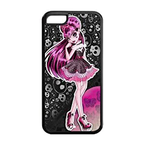 Customize Cartoon Game Monster High Back Case for iphone 5C JN5C-1623