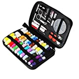 TUXWANG Premium Portable Sewing Kit - With 90-Piece Sewing Accessories and Carry Case - Includes Assorted Needles and 24 Reels of Thread?