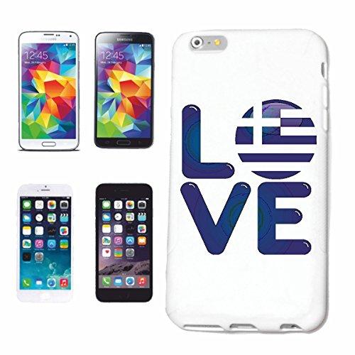 """cas de téléphone iPhone 7 """"J'AIME LA GRECE J'AIME GRÈCE GRECS UE HOLIDAY HOLIDAY"""" Hard Case Cover Téléphone Covers Smart Cover pour Apple iPhone en blanc"""