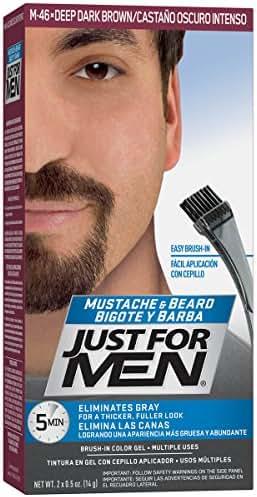 Just For Men Mustache & Beard Color, Beard Coloring for Men