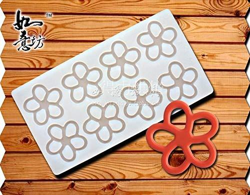 (MOMA cake decorating tools flower silicone baking mat chocolate transfer sheet plugin silicone mold NEW)
