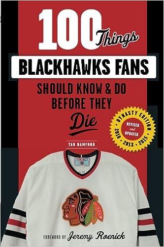 Descargar Torrent Español 100 Things Blackhawks Fans Should Know & Do Before They Die Ebook PDF