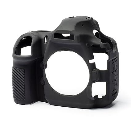 easycover Silicone Camera Armor Skin for Nikon D850 DSLR  Black Case