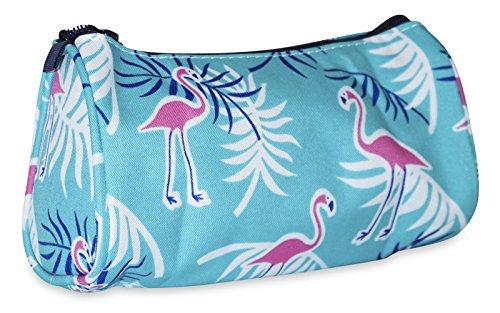 Ever Moda Pink Flamingo Makeup Bag