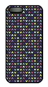Chevron Pattern Seamless Pattern In Pastel HAC1014099 Custom PC Hard For SamSung Galaxy S4 Mini Phone Case Cover Black