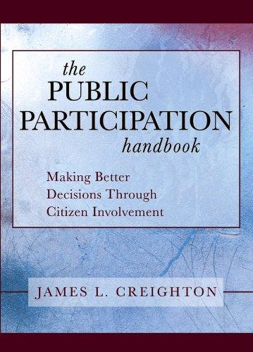 Download The Public Participation Handbook: Making Better Decisions Through Citizen Involvement Pdf
