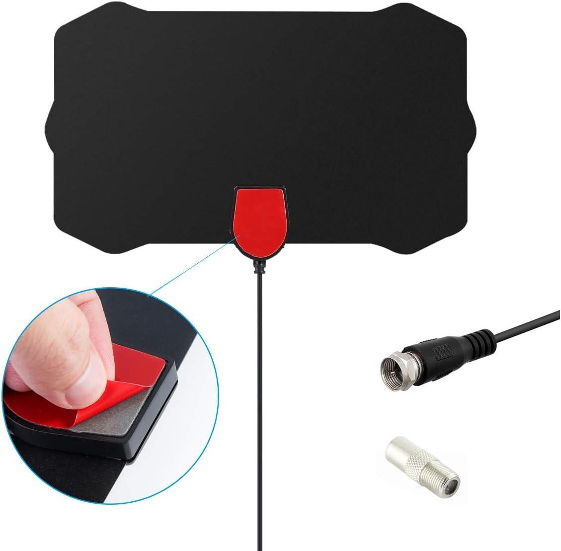 350 Mile Digital Antenna Clear TV Free HD 1080P Signal Amplifier Antenn
