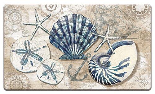 Counter Art 'Tide Pool Shells' Anti Fatigue Floor Mat, 30 x 20'' by CounterArt