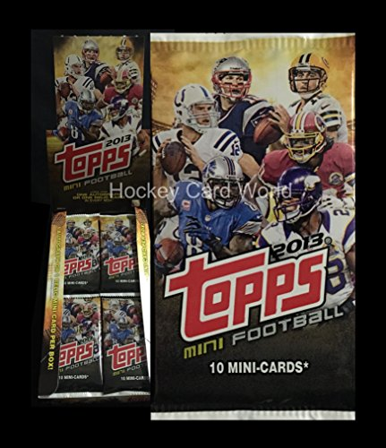 2013 Topps Mini Hobby Football Pack - 10 Cards Pack - Look for Auto Jersey (Ahl Hockey Jerseys)