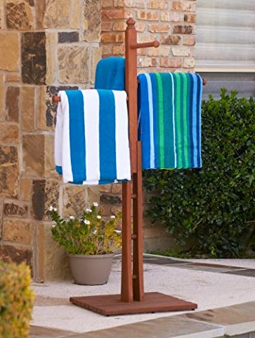 Holly & Martin Kinloch Towel Rack - Pottery Barn Outdoor Furniture