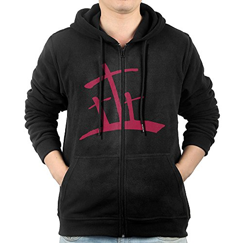 (Akagopstore Casual Mens Christian Red Cross Full-Zip Sweatshirt Hoodie Jacket Medium)