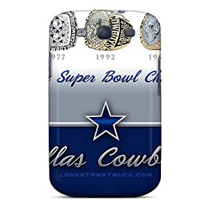 Ifans Galaxy S3 Well-designed Hard Case Cover Dallas Cowboys Protector