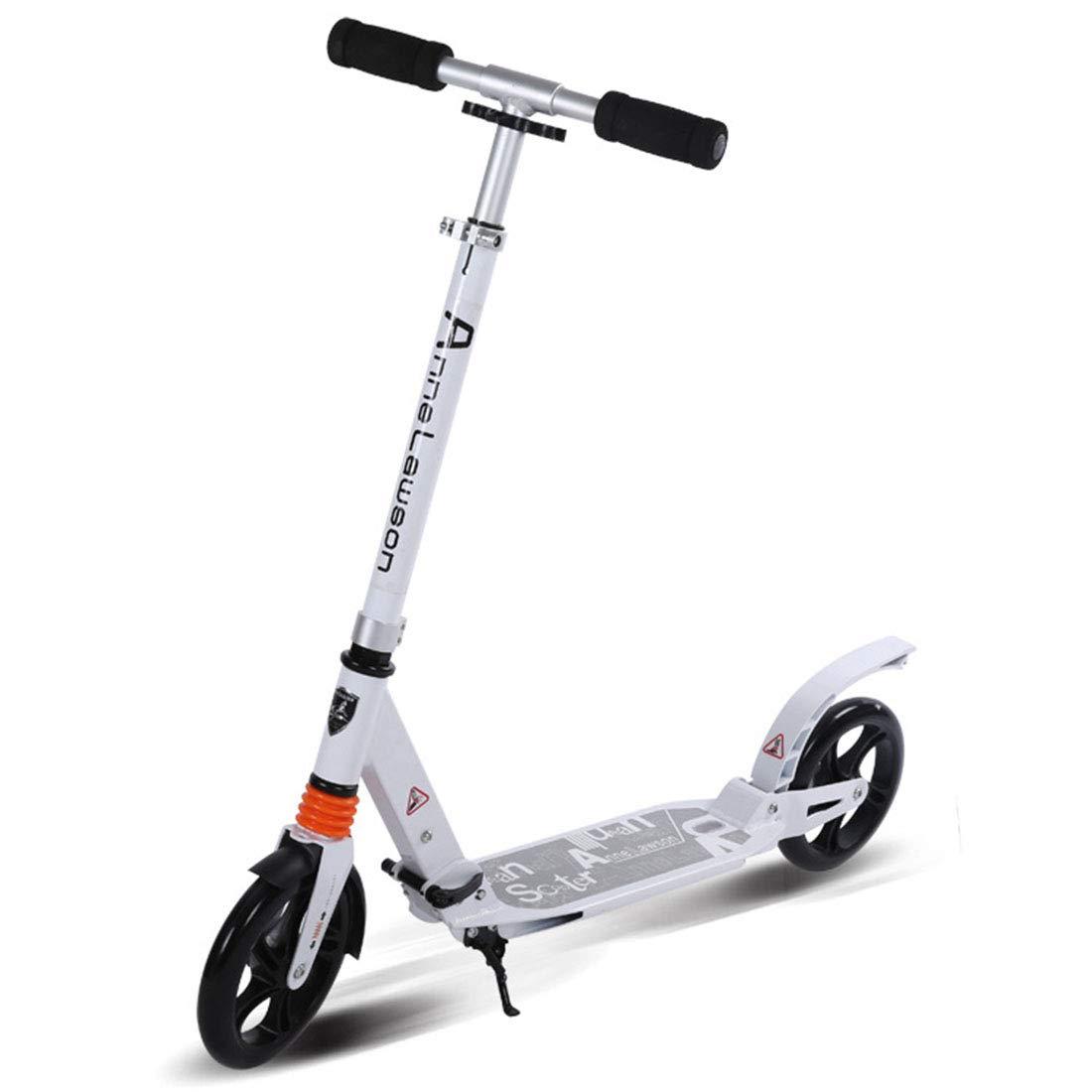 FELICIGG FELICIGG FELICIGG Erwachsener Roller mit Zwei Rädern Aluminium großes Rad zusammenklappbar B07NQ69T8G Skateboards Verrückter Preis 028edc