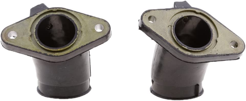 H HILABEE Colector De Admisi/ón Carb Flange Boot Para Yamaha V-STAR DragStar XVS650 XVS400