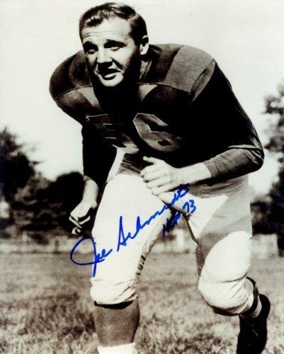 Joe Schmidt Detroit Lions - Autographed Joe Schmidt Photo - Detroit Lions