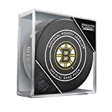 Sher-Wood 2018 Round 1 & 2 Bos Bruins Official Game Puck 960T NHL Stanley Cup Playoffs, One Size, Black